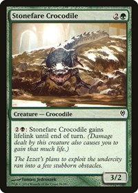 Stonefare Crocodile, Magic: The Gathering, Duel Decks: Jace vs. Vraska