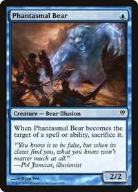 Phantasmal Bear, Magic: The Gathering, Duel Decks: Jace vs. Vraska