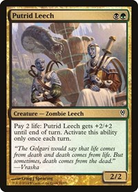 Putrid Leech, Magic: The Gathering, Duel Decks: Jace vs. Vraska