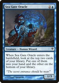 Sea Gate Oracle, Magic: The Gathering, Duel Decks: Jace vs. Vraska