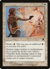 Orim's Thunder, Magic: The Gathering, Apocalypse
