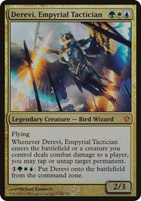 Derevi, Empyrial Tactician (Commander 2013), Magic: The Gathering, Oversize Cards
