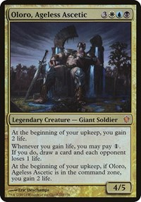 Oloro, Ageless Ascetic (Commander 2013) (Foil)