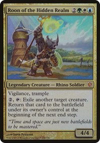 Roon of the Hidden Realm (Commander 2013), Magic, Oversize Cards