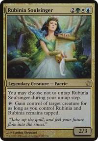 Rubinia Soulsinger (Commander 2013), Magic: The Gathering, Oversize Cards