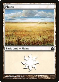 Plains (302), Magic, Commander
