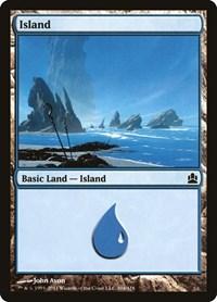 Island (304), Magic: The Gathering, Commander