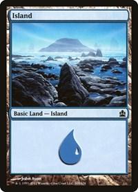 Island (305), Magic: The Gathering, Commander