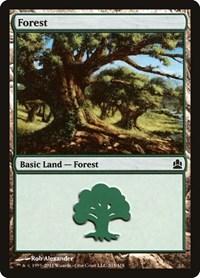 Forest (315), Magic, Commander