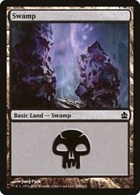 Swamp (308), Magic: The Gathering, Commander