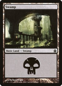 Swamp (310), Magic: The Gathering, Commander