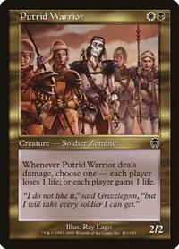 Putrid Warrior, Magic: The Gathering, Apocalypse