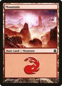 Mountain (311), Magic: The Gathering, Commander