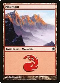 Mountain (313), Magic: The Gathering, Commander