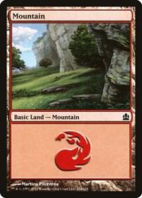 Mountain (314), Magic: The Gathering, Commander