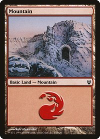 Mountain (145), Magic: The Gathering, Archenemy