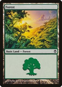Forest (39), Magic, Duel Decks: Ajani vs. Nicol Bolas