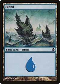 Island (79), Magic: The Gathering, Duel Decks: Ajani vs. Nicol Bolas