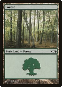 Forest (29), Magic: The Gathering, Duel Decks: Elves vs. Goblins