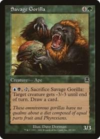 Savage Gorilla, Magic: The Gathering, Apocalypse