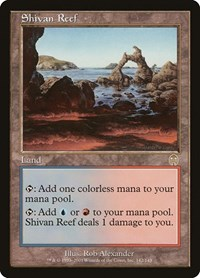 Shivan Reef, Magic: The Gathering, Apocalypse