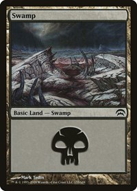 Swamp (155), Magic: The Gathering, Planechase