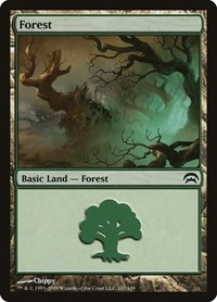 Forest (167), Magic: The Gathering, Planechase