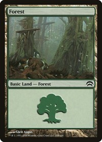 Forest (168), Magic: The Gathering, Planechase