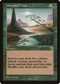 Untamed Wilds, Magic: The Gathering, Portal