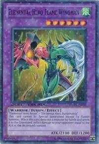 Elemental Hero Flame Wingman, YuGiOh, Duel Terminal 3