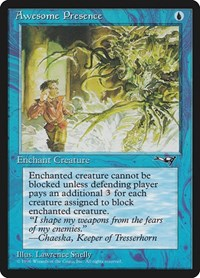 Awesome Presence (Man Being Chased), Magic: The Gathering, Alliances
