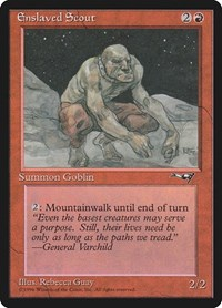 Enslaved Scout, Magic: The Gathering, Alliances