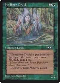 Fyndhorn Druid (Facing Right), Magic: The Gathering, Alliances