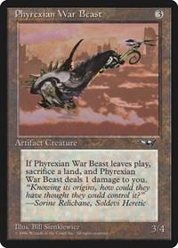 Phyrexian War Beast (Facing Right), Magic: The Gathering, Alliances