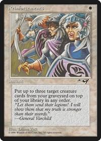 Reinforcements (Line-up), Magic: The Gathering, Alliances