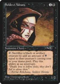 Soldevi Adnate (Woman), Magic, Alliances