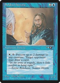 Soldevi Heretic (Blue Robe), Magic: The Gathering, Alliances