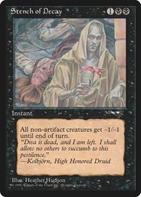Stench of Decay (Red Flower), Magic: The Gathering, Alliances