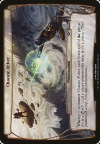 Chaotic Aether (Planechase 2012), Magic, Oversize Cards
