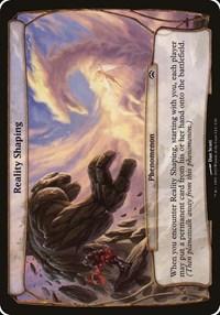 Reality Shaping (Planechase 2012), Magic, Oversize Cards