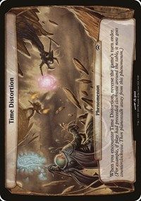 Time Distortion (Planechase 2012), Magic, Oversize Cards