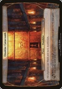 Onakke Catacomb (Planechase 2012), Magic, Oversize Cards
