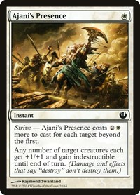 Ajani's Presence, Magic, Journey Into Nyx