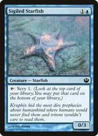 Sigiled Starfish, Magic: The Gathering, Journey Into Nyx