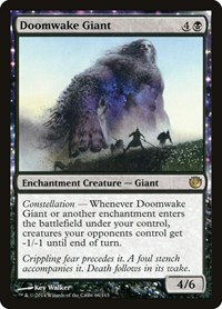 Doomwake Giant, Magic: The Gathering, Journey Into Nyx