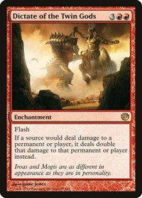 Dictate of the Twin Gods, Magic: The Gathering, Journey Into Nyx
