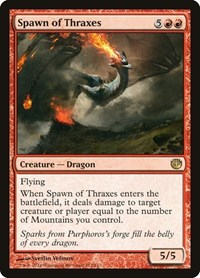 Spawn of Thraxes, Magic: The Gathering, Journey Into Nyx