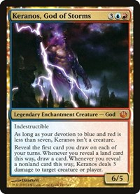 Keranos, God of Storms, Magic: The Gathering, Journey Into Nyx
