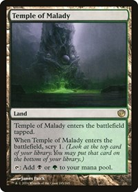 Temple of Malady, Magic: The Gathering, Journey Into Nyx