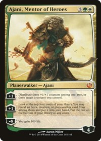 Ajani, Mentor of Heroes, Magic: The Gathering, Journey Into Nyx